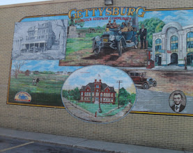 Photo: Lincoln Highway mural-Gettysburg PA