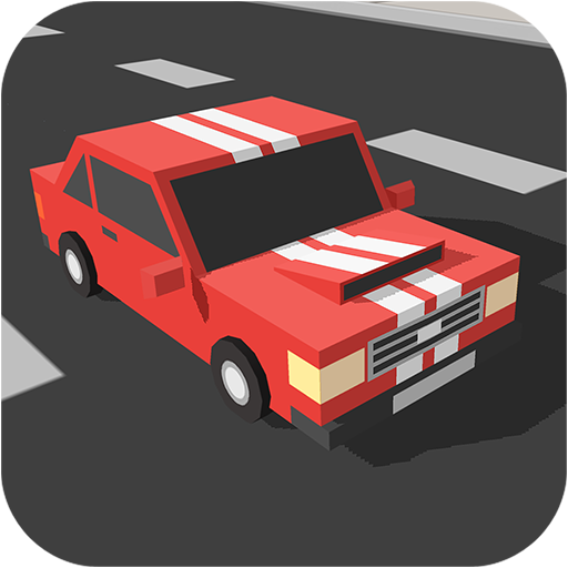 Blocky Traffic Speedy Racer