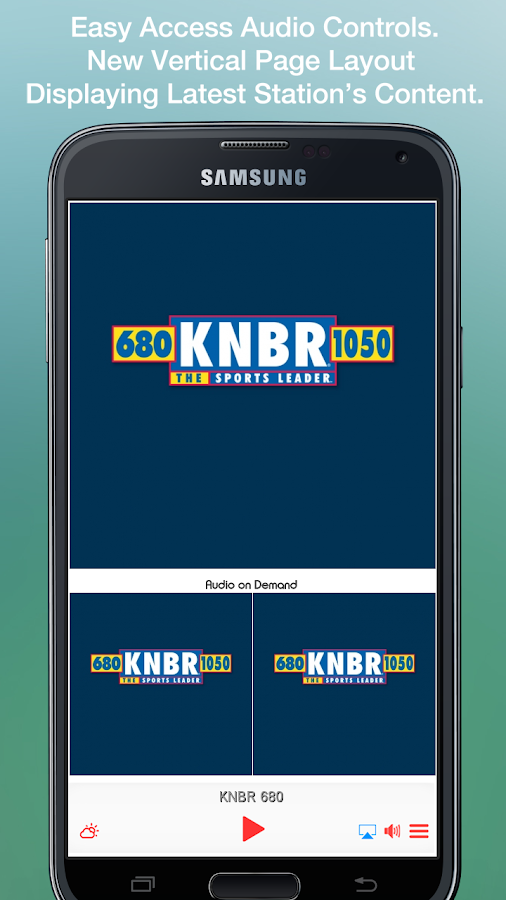 KNBR 680- screenshot