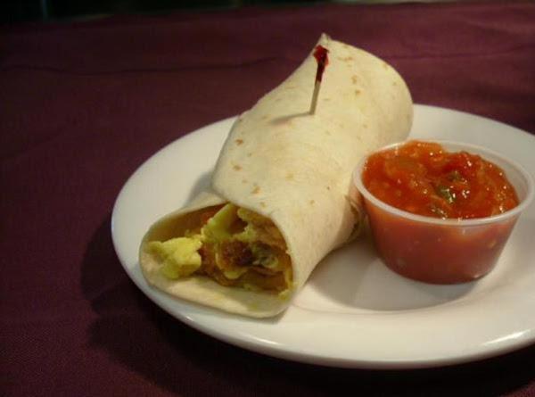Linda's Extra Lean Brunch Burritos / No Red-meat Used Recipe