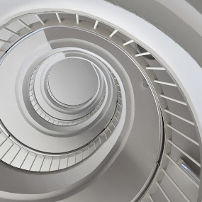 Illustration by J & M - Buildings & Architecture Architectural Detail ( image, view, stairs, illustration )