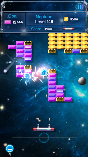 Brick Breaker : Space Outlaw filehippodl screenshot 4