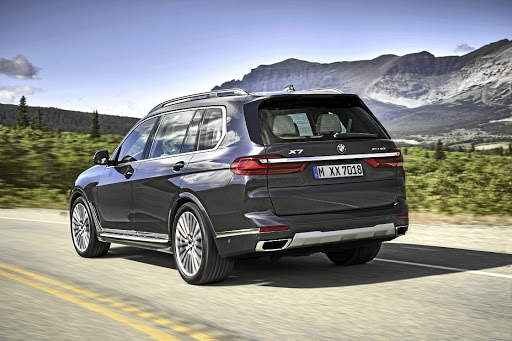 Styling of BMW's largest SUV certainly isn't subtle, and is sure to polarise opinion.