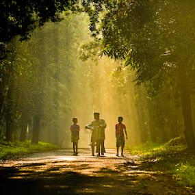 by Jaya Prakash - City,  Street & Park  Street Scenes