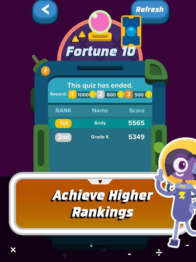 Zap Zap Math : K-6 Math Games- screenshot