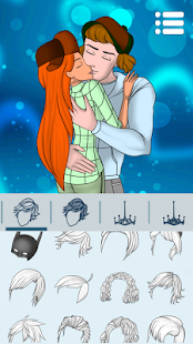 Avatar Maker: Kissing Couple - náhled