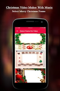 Merry Christmas Video Maker With Music - náhled