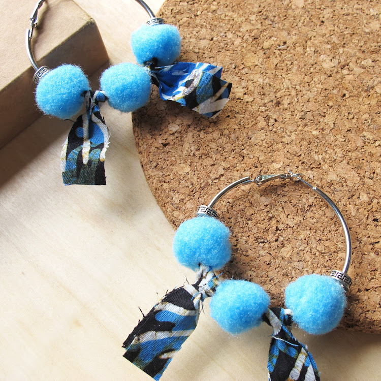 Boho Hoop Earrings #Maya by Wild Whimsies