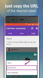 VideoSave Downloader - náhled