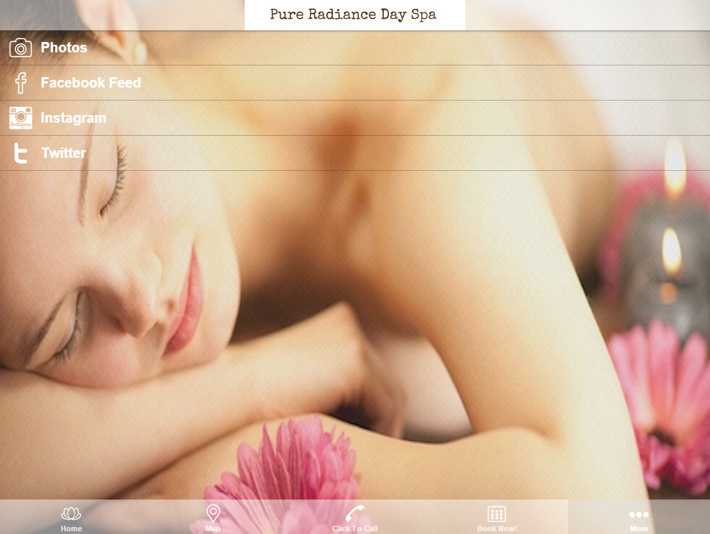 Pure Radiance Day Spa- screenshot