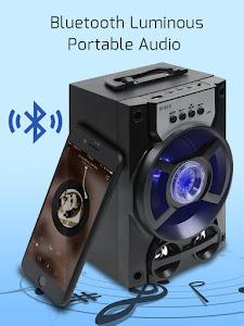 Boxa portabila, radio FM, baterie 1200 mAh, Bluetooth