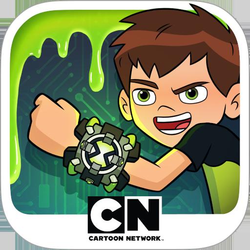 Ben 10 - Super Slime Ben: Endless Arcade Climber