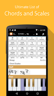 Piano Companion: chords,scales- screenshot thumbnail