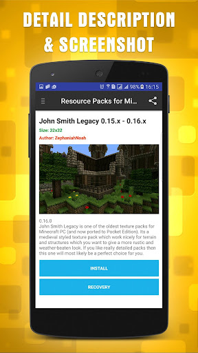 Resources Packs for Minecraft 1.10.2 screenshots 3