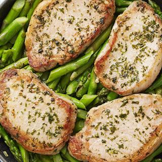 Dijon Pork & Asparagus Sauté