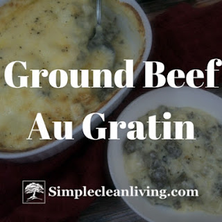 Ground Beef Au Gratin Potatoes