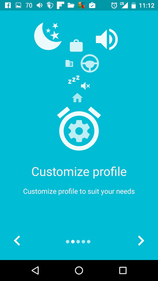 Profile Scheduler- screenshot