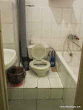 Photo: Our interesting bathroom setup in Vladivostok...why not?