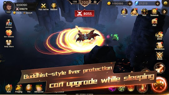 Hunter Legend : Chaos dungeons – Idle RPG Apk Download For Android and Iphone 6