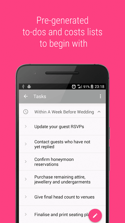 Wedding Planner — Agnesse- screenshot