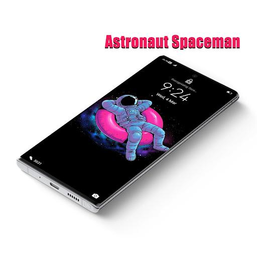 astronaut spaceman emui 10/9/8/5 theme screenshot 2