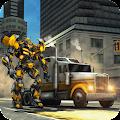 USA Truck Transform Robot Crime City