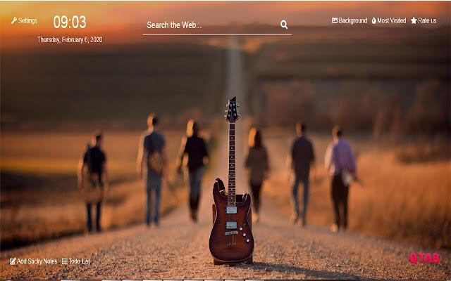 Guitar Wallpapers Guitar New Tab Hd Chrome Web Store