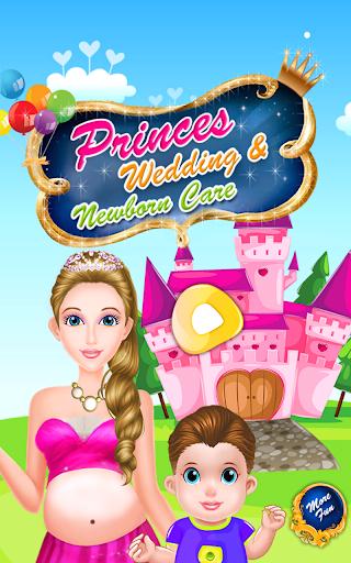 プリンセス赤ちゃんの結婚式のゲーム
