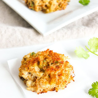 Hatch Green Chile Crab Cakes