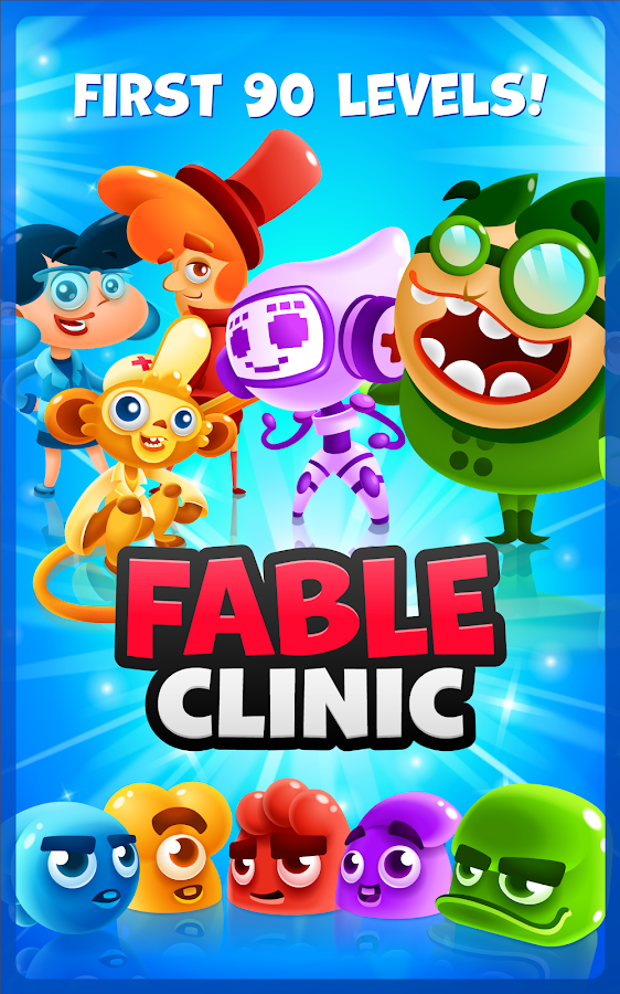 Fable Clinic - Match 3 Puzzler- screenshot