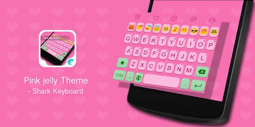 Emoji Keybaord-Pink Jelly