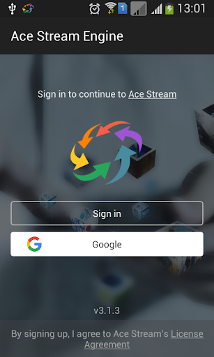 Ace Stream for Android TV 3.1.31.0 screenshots 1