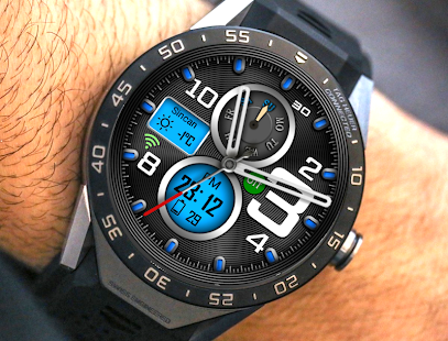 H108 Hybrid Watch Face For WatchMaker Users Screenshot