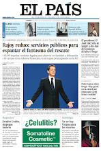 Photo: Rajoy reduce servicios públicos para espantar el fantasma del rescate, Sarkozy busca el voto con más ataques a España y un reportaje sobre los jóvenes sicarios de Medellín, en portada este domingo 8 de abril http://srv00.epimg.net/pdf/elpais/1aPagina/2012/04/ep-20120408.pdf