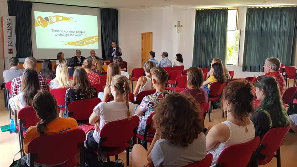 Jovens de cinco países chegam a Lamego para projeto da Obra Kolping Portugal