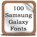 100 SamsungGalaxy Fonts icon