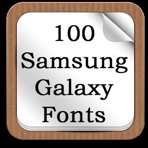 100 SamsungGalaxy Fonts 0.3 Icon