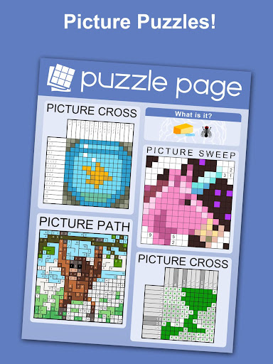Puzzle Page - Crossword, Sudoku, Picross and more screenshots 16