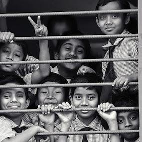 by Nirupam Roy - Babies & Children Child Portraits ( face, students, faces, nirupam, pwc faces, smiles, people, portrait )