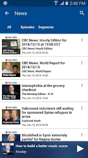 CBC Radio- screenshot thumbnail