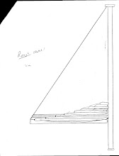 Photo: Lines from leech of sail to topping lift keep sail from dropping off boom w/o complications of lazy jacks
