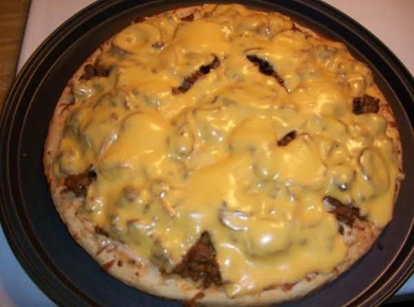 Patty Melt Pizza