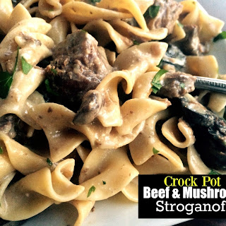 Crock Pot Beef Stroganoff Cream Mushroom Soup Recipes