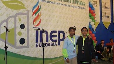 Photo: INEPO-EUROASIA 2009 Azerbaijan (2 Bronze Medals)