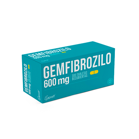 Gemfibrozilo 600mg
