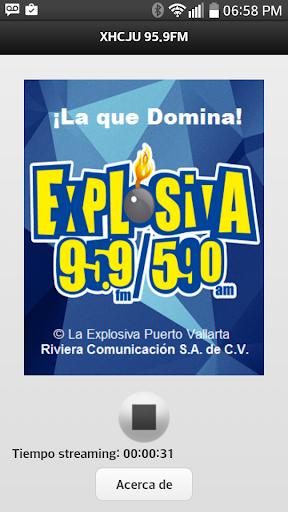 XHCJU 95.9 FM LA EXPLOSIVA