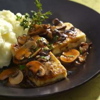 Tofu Cutlets Marsala.