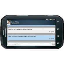 Photo: I love the horizontal screen viewing for texting.