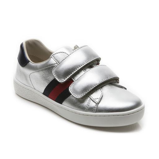Primary image of Gucci Leather Web Trainer Kid