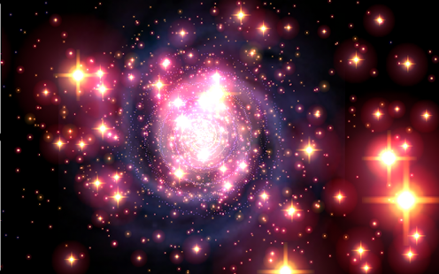 Galaxy Journey Music Visualizer Pro Screenshot